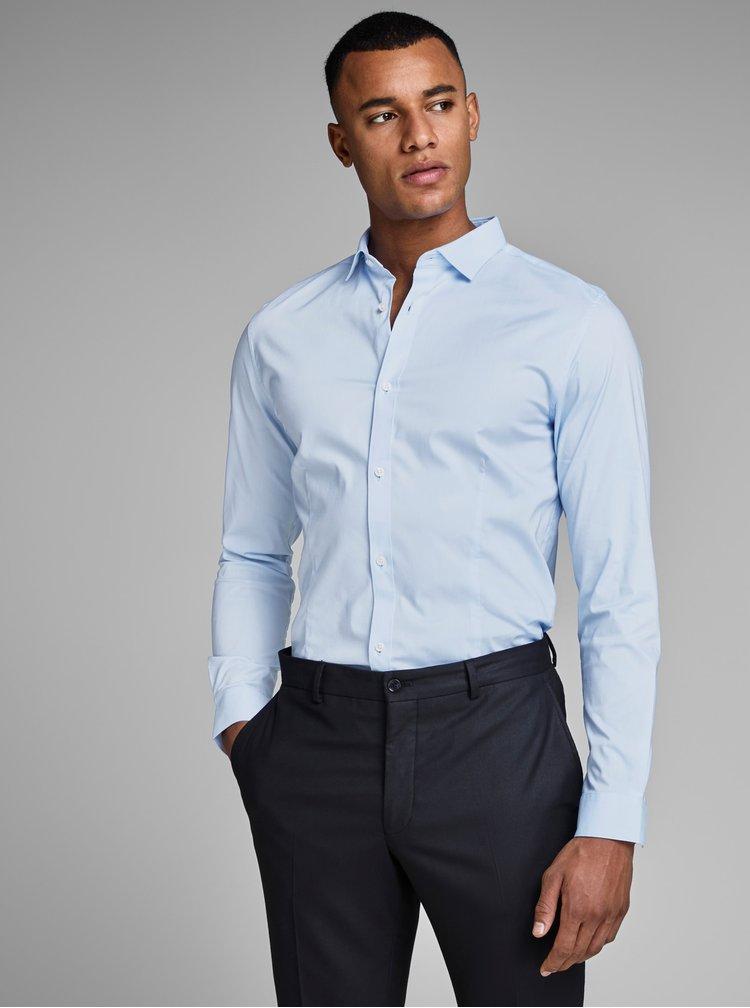 Camasa albastru deschis slim fit Jack & Jones Parma