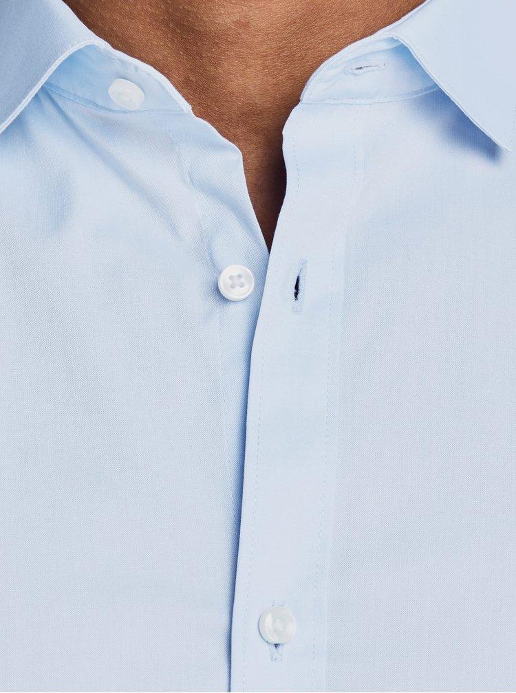 Svetlomodrá formálna super slim fit košeľa Jack & Jones Parma