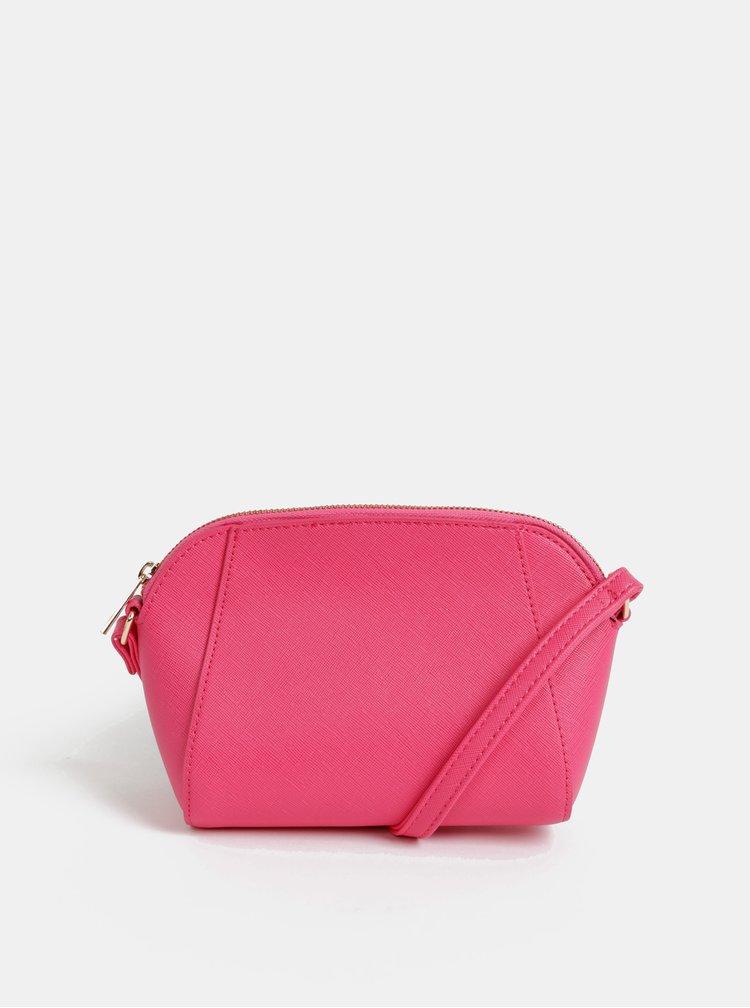 Rúžová crossbody kabelka Dorothy Perkins