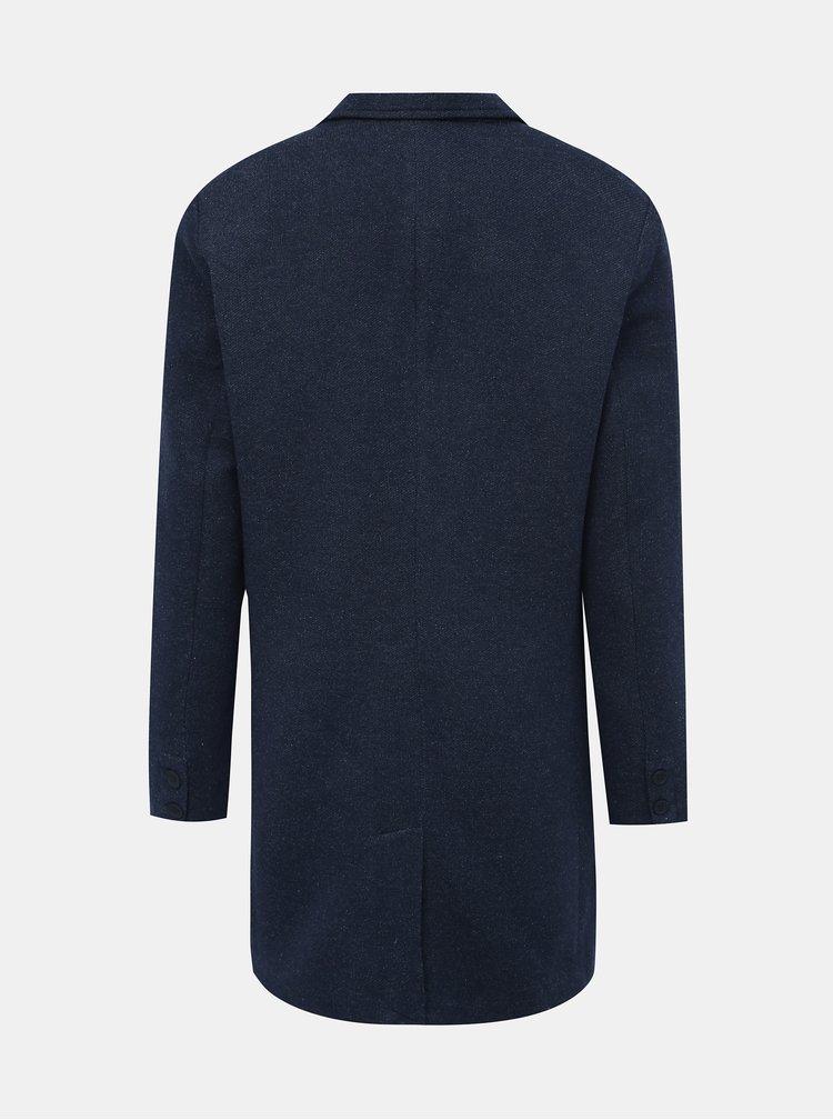 Tmavomodrý kabát ONLY & SONS Julian