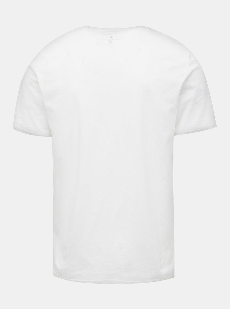 Bílé tričko ONLY & SONS Celebrity Icon