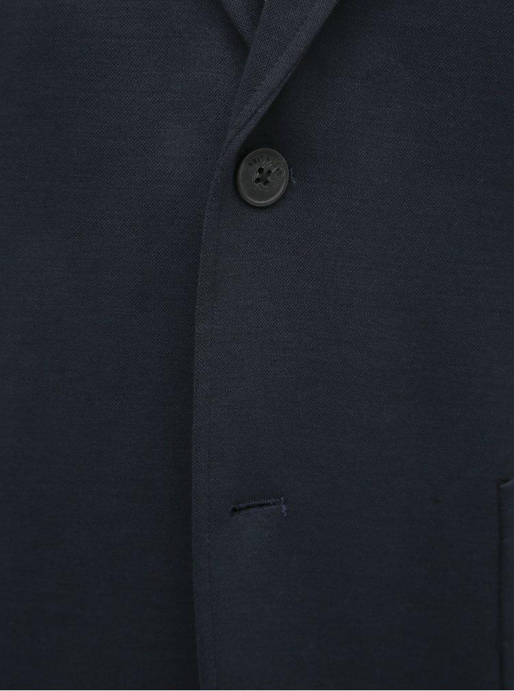 Tmavomodré oblekové sako ONLY & SONS Selias