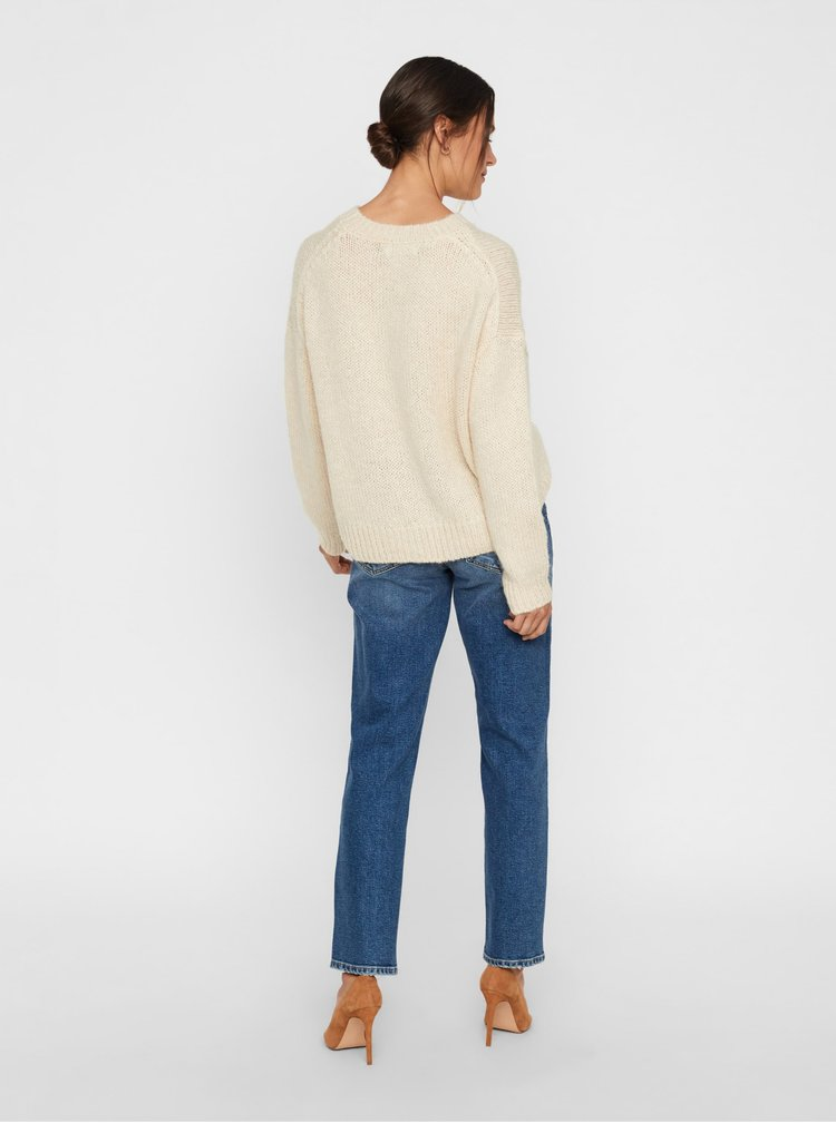 Modré relaxed fit rifle VERO MODA Sara