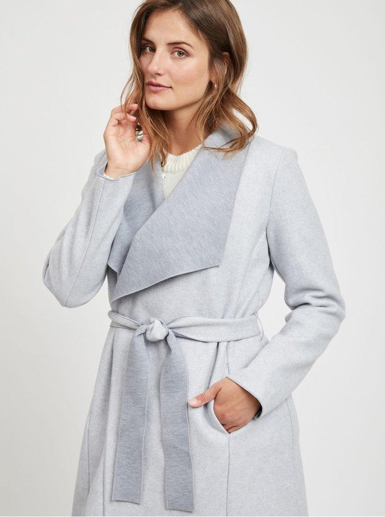Svetlošedý ľahký kabát VILA Balis
