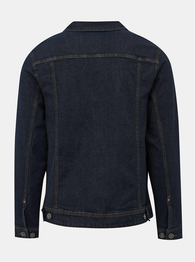 Tmavomodrá rifľová bunda Shine Original
