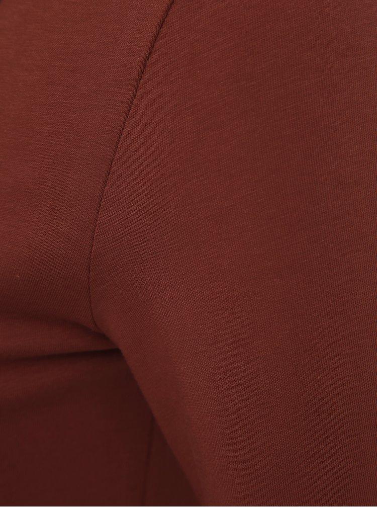 Cihlové basic tričko VERO MODA Maxi