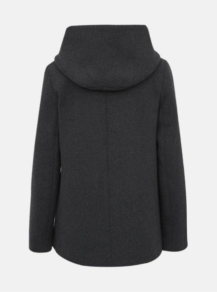 Šedý kabát VERO MODA Hyper