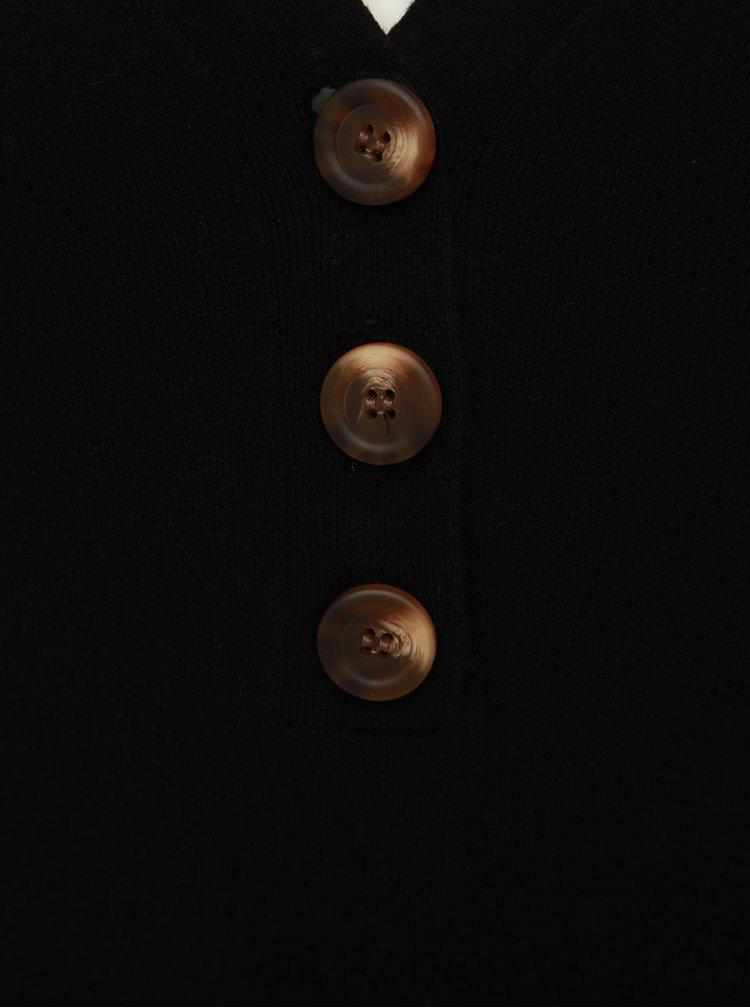 Černý svetr VERO MODA Chip