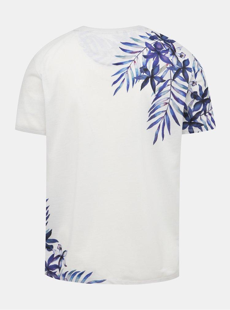 Krémové tričko s potiskem Burton Menswear London
