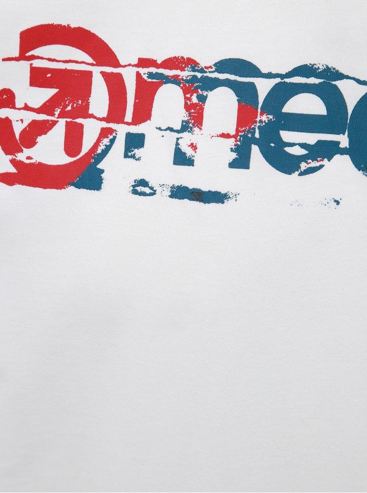 Biele pánske tričko Meatfly Raw