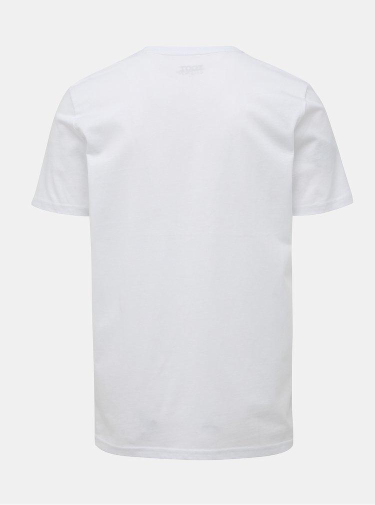 Bílé pánské tričko s potiskem ZOOT Originál neštoffice