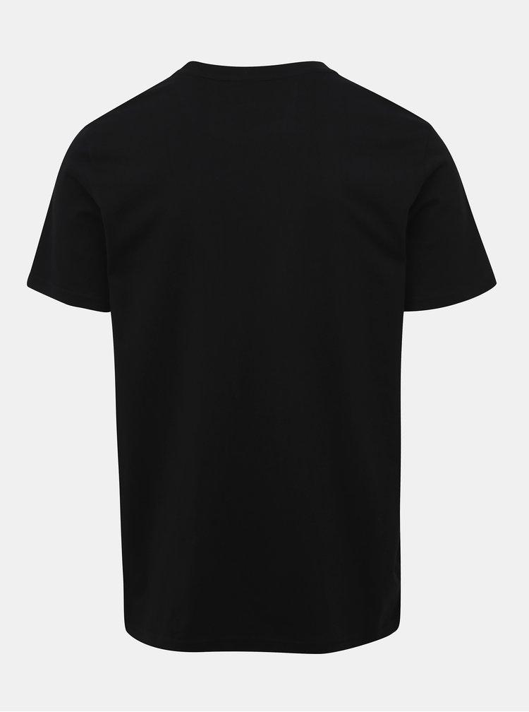 Černé pánské tričko s potiskem ZOOT Originál A4