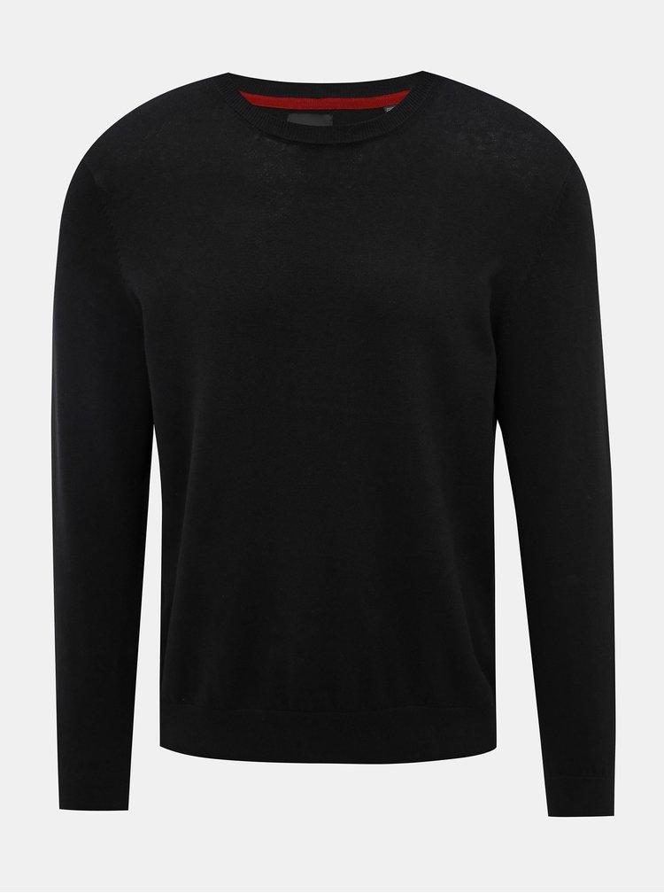 Čierny sveter Burton Menswear London