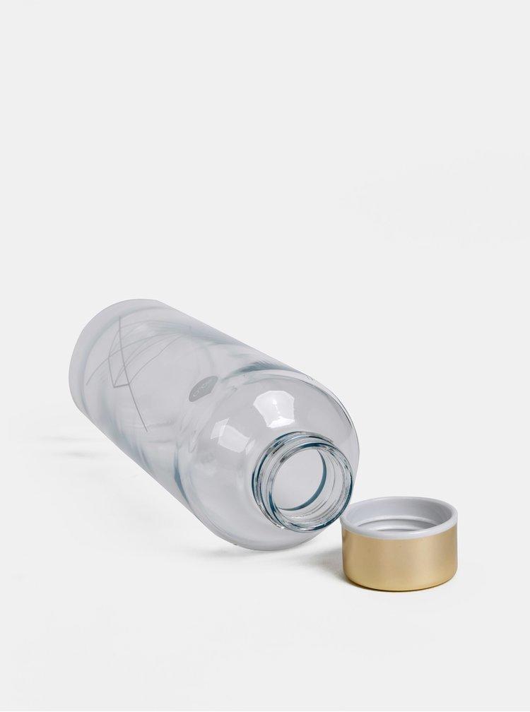 Sklenená fľaška v krémovom obale EQUA Heavens