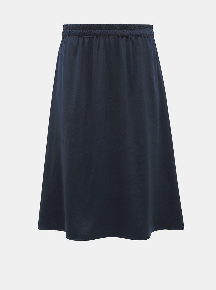 Tmavomodrá sukňa VILA Abota