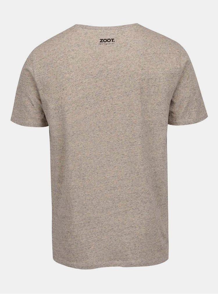 Béžové pánské tričko ZOOT Originál Svoji holčičku si ohlídám!