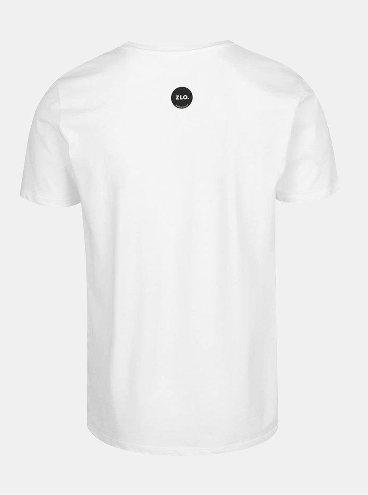 Bílé pánské tričko ZOOT Originál Fuck you fucking fuck