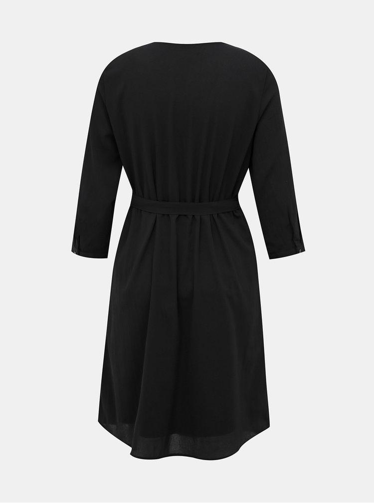 Čierne šaty VERO MODA Grace