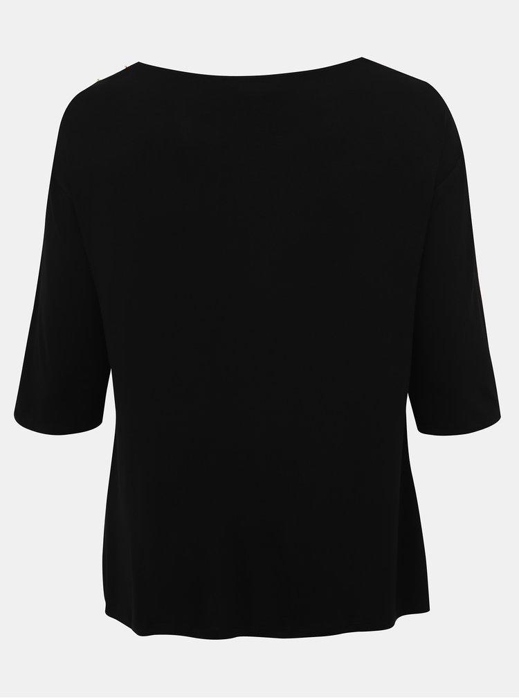 Čierne tričko Dorothy Perkins Curve