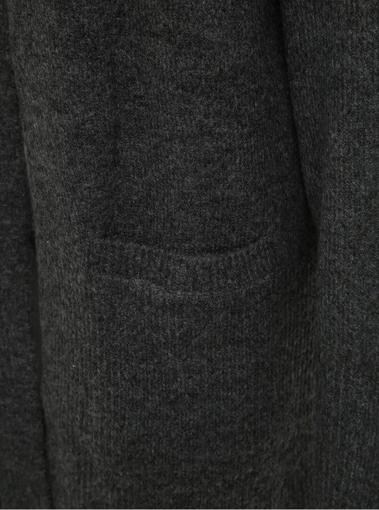 Tmavě šedý basic kardigan Dorothy Perkins