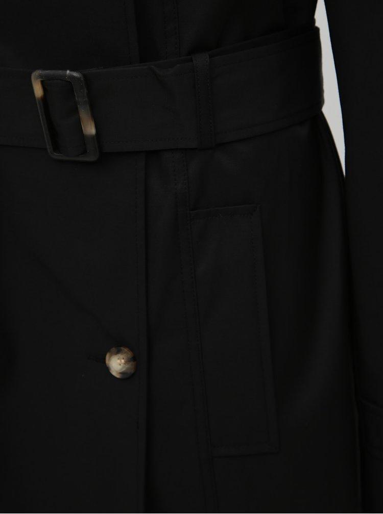 Čierny trenčkot Dorothy Perkins Tall