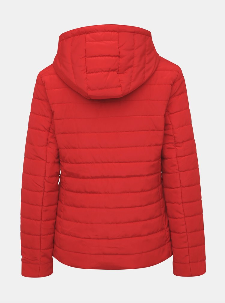 Červená prešívaná bunda ZOOT