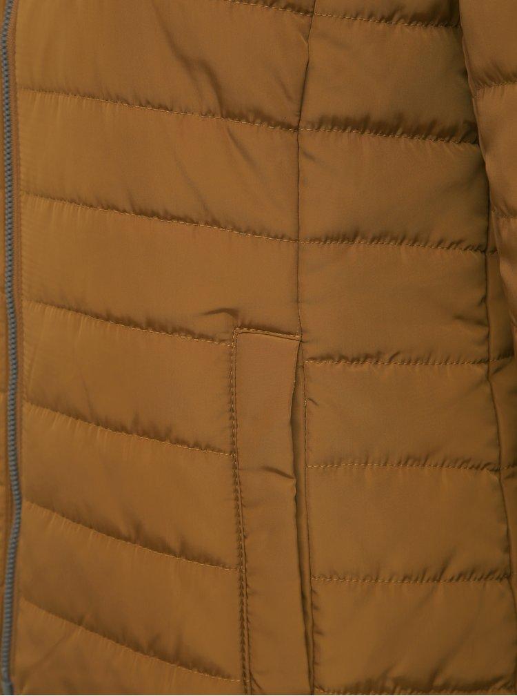 Hnedá prešívaná bunda ZOOT