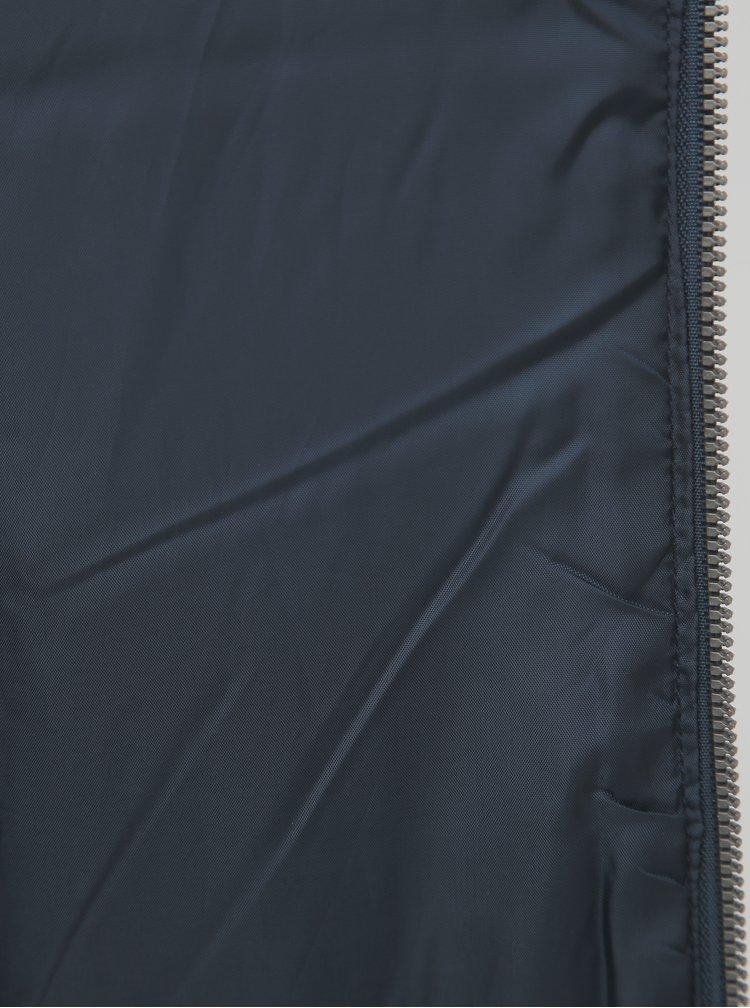 Tmavě modrá prošívaná bunda ZOOT