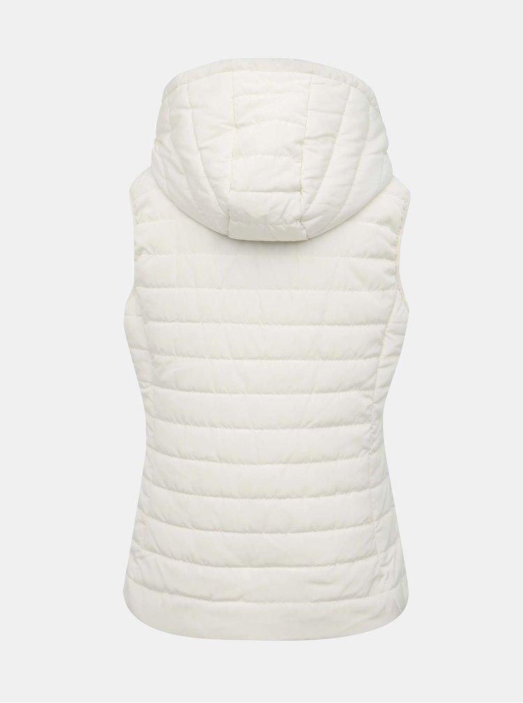 Bílá prošívaná vesta ZOOT