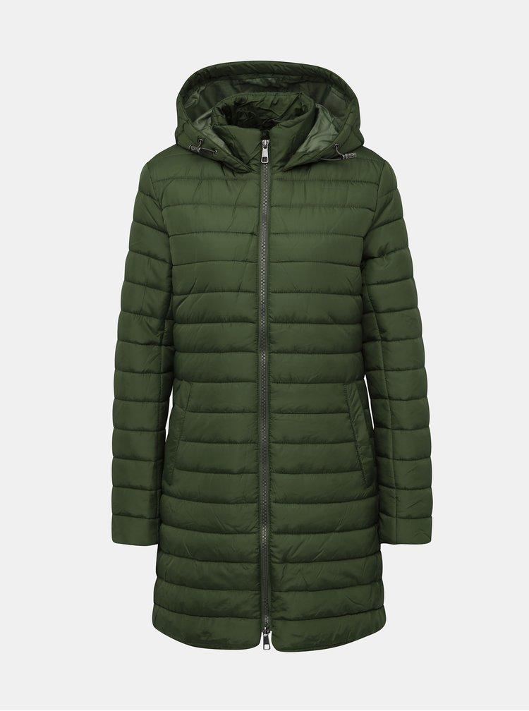 Zelený prešívaný kabát ZOOT