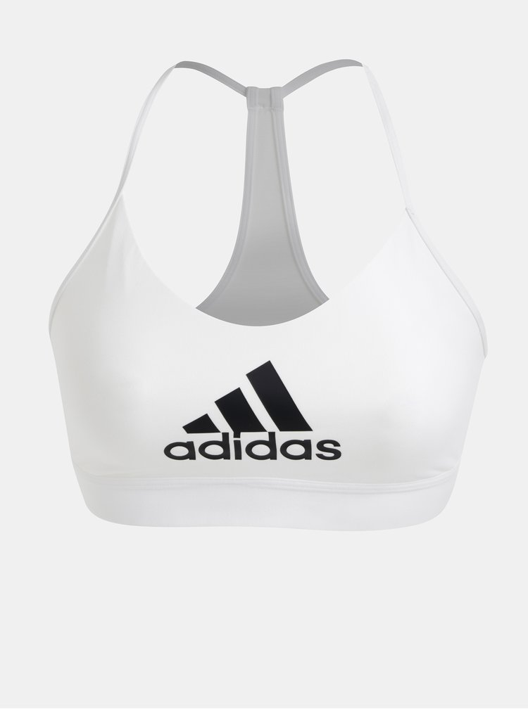 Biela športová podprsenka adidas Performance