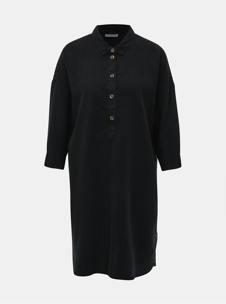 Černé košilové šaty Noisy May Mika