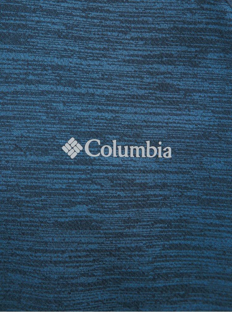 Modrá pánska funkčná mikina Columbia