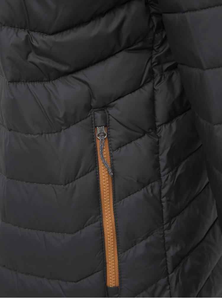 Šedá pánska zimná prešívaná bunda Columbia Powder