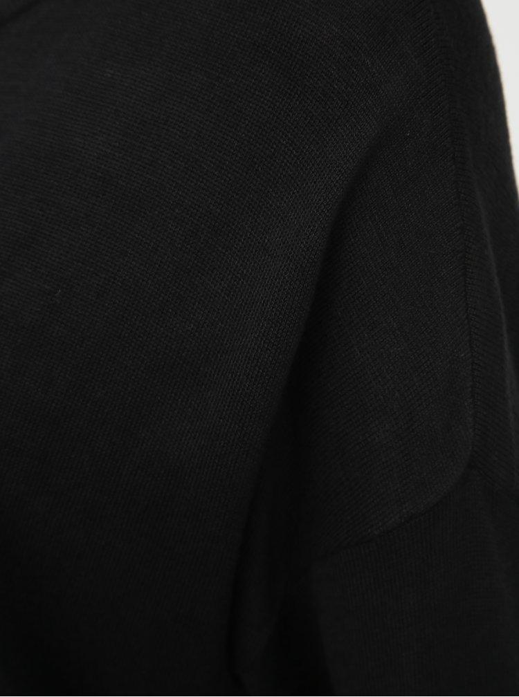 Černý lehký svetr VERO MODA Raini