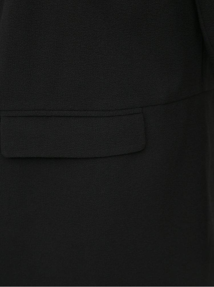 Čierne sako ONLY CARMAKOMA Caramanda