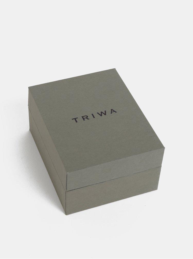 Hodinky s nerezovým páskem ve stříbrné barvě TRIWA Ivory Falken