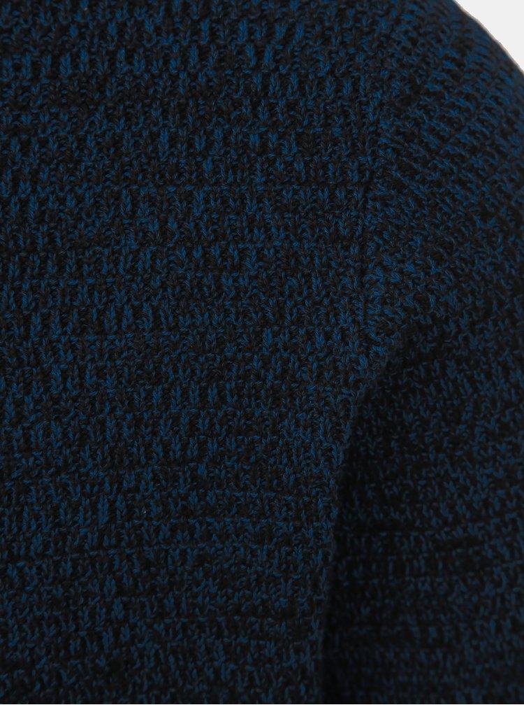 Tmavě modrý basic svetr Selected Homme Victor