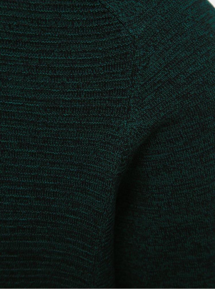 Tmavě zelený svetr Selected Homme Bakes