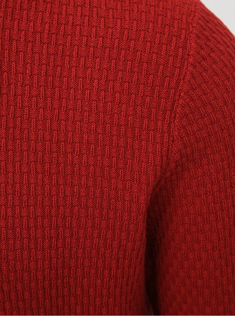 Červený svetr Selected Homme Oliver
