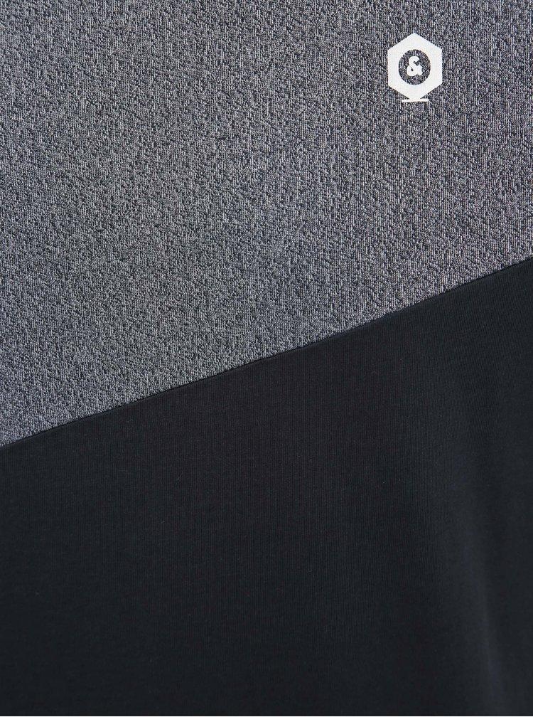 Tmavě modré tričko Jack & Jones Cross