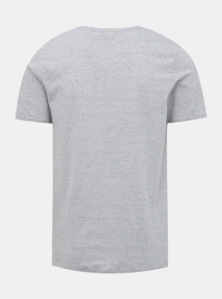 Svetlomodré tričko s vreckom Jack & Jones Nepsen
