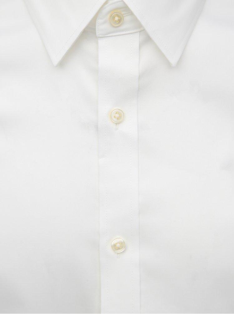 Bílá pánská slim fit košile GANT