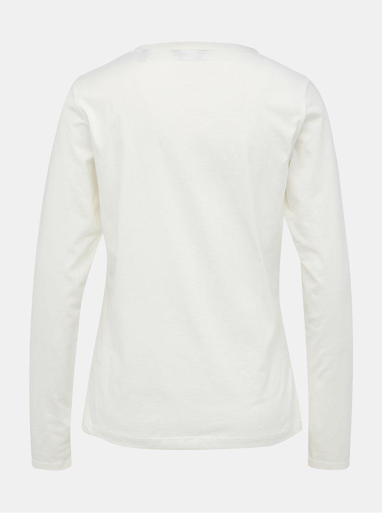 Krémové dámské tričko GANT