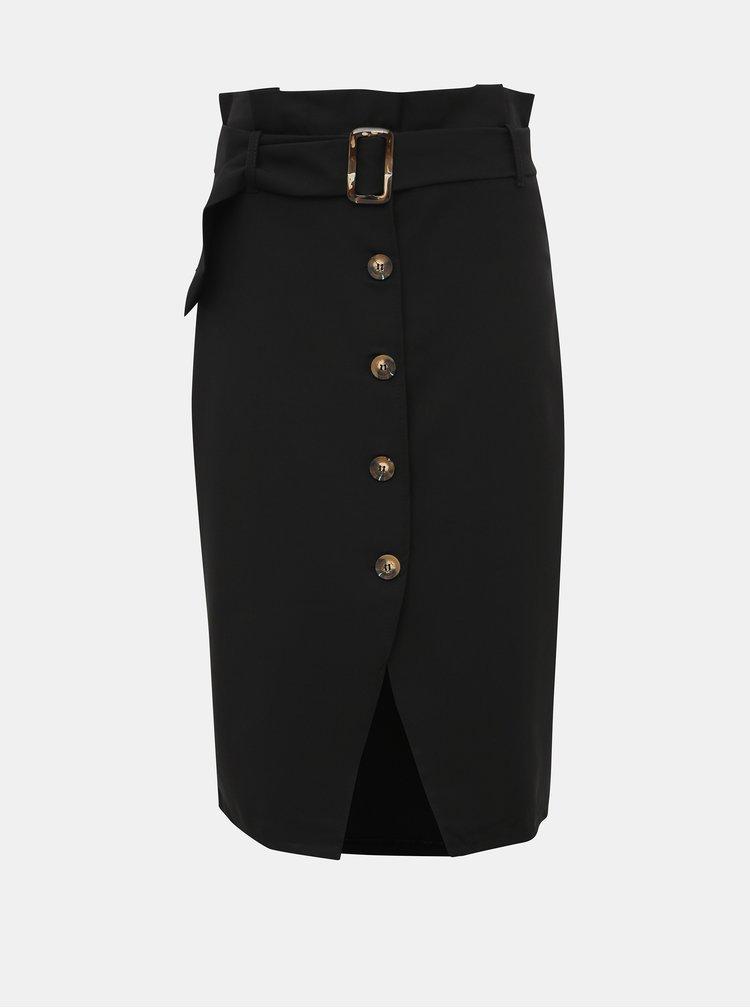 Černá pouzdrová sukně Haily´s Marley