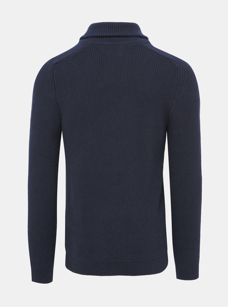 Tmavě modrý svetr Jack & Jones Davis