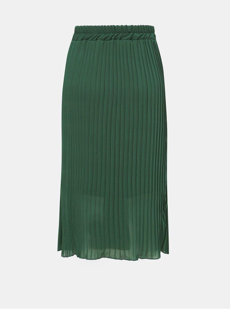 Zelená plisovaná sukně Haily´s Anaya