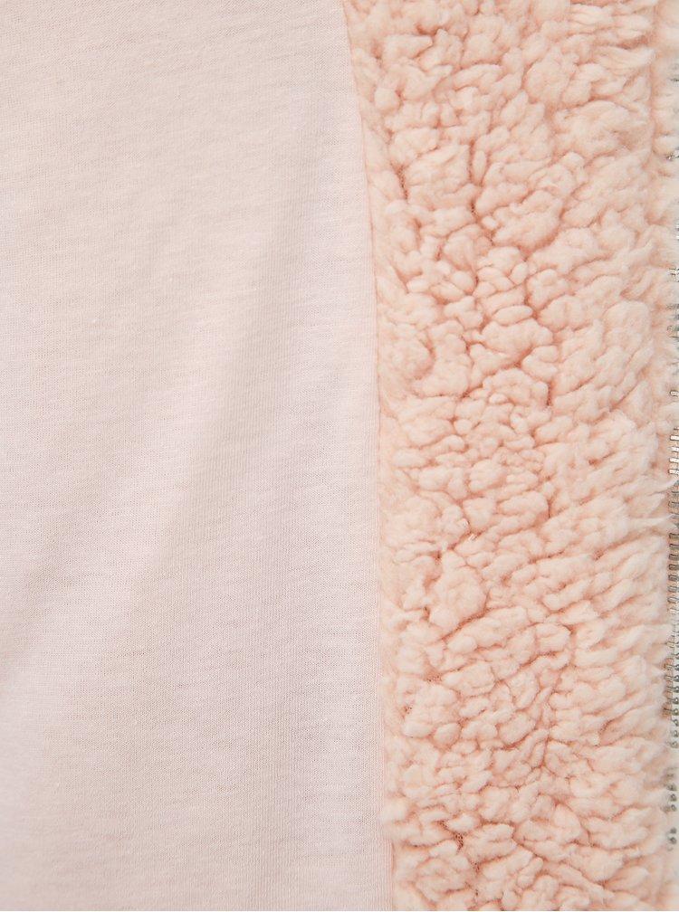 Růžová dámská mikina Haily´s Jacky