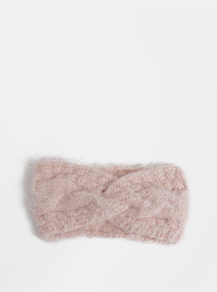 Růžová čelenka Haily´s Kina