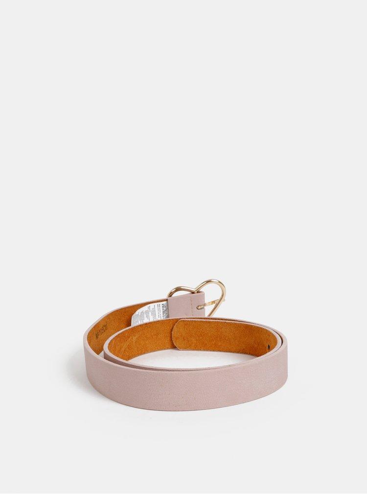Růžový kožený pásek Haily´s  Gaily
